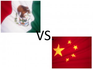 Mexico vs China