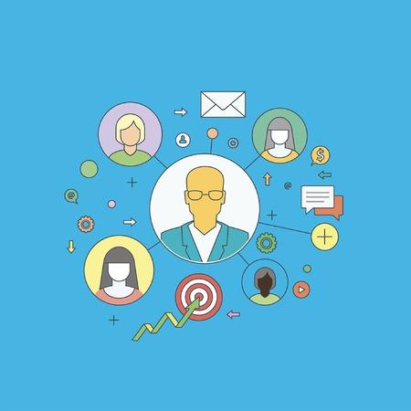 Organización empresarial: características, tipos y objetivos